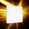 Накладной светильник 170x170 12W IP20