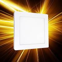 Накладной светильник 170x170 12W IP20, фото 1