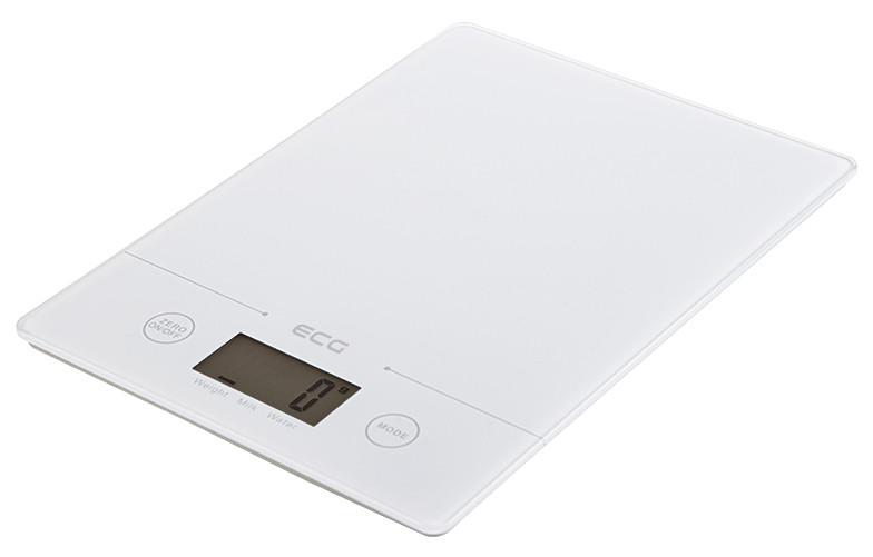 Весы кухонные ECG KV 117 Slim 5 кг Белый