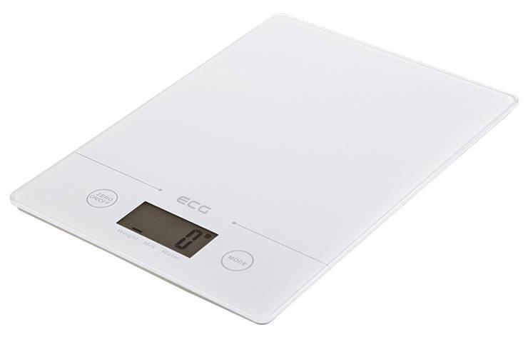 Весы кухонные ECG KV 117 Slim 5 кг Белый, фото 2