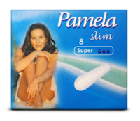 Тампоны PAMELA slim Super 8