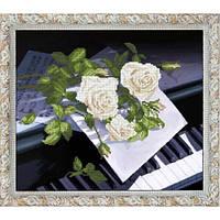 """""""Признание в любви 1"""" панорамная вышивка. Набор для вышивания нитками"""