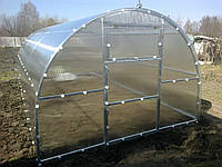 Секция на теплицу «Thermos 4*6» из квадратного профиля,поликарбонат 4мм