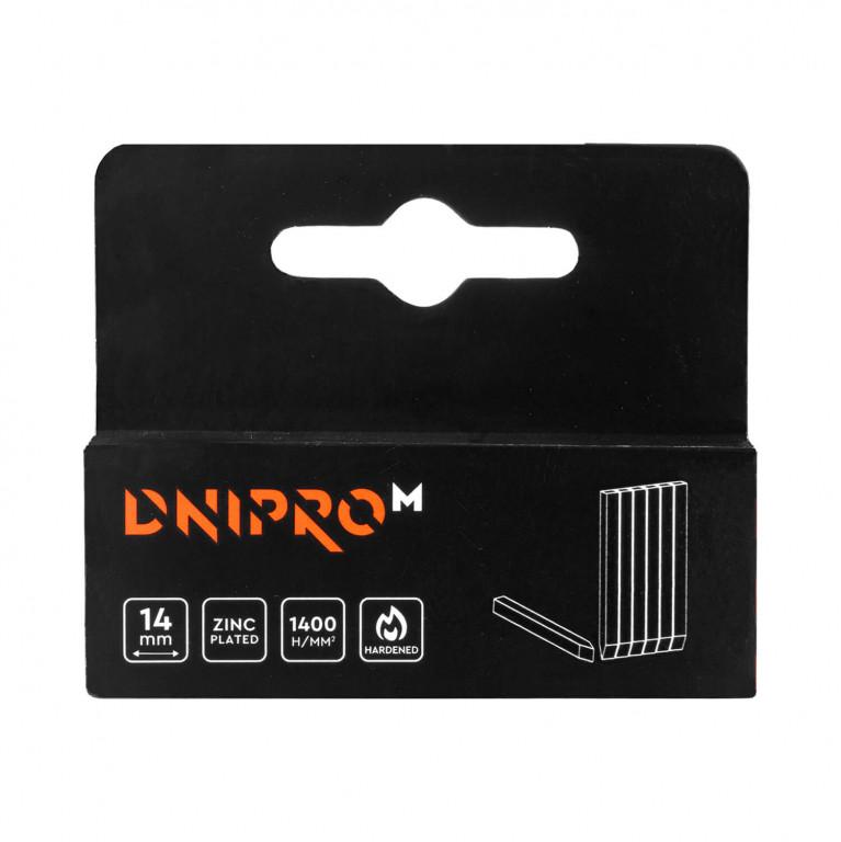 Шпильки для строительного степлера Dnipro-M 14 мм