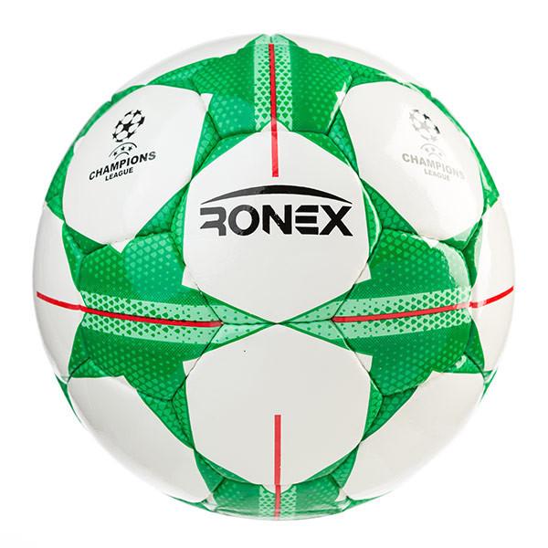 М'яч футбольний DXN Ronex FN1, зелений.№5.