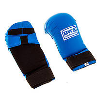 Накладки для карате BWS4009,  M синий..