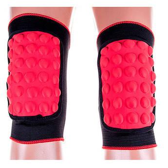"""Волейбольные наколенники Ronex RX-055 """"шишка"""" красный, размер L"""