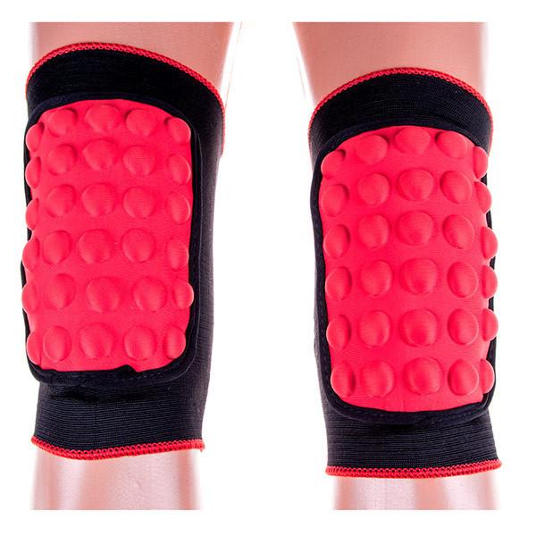 """Волейбольные наколенники Ronex RX-055 """"шишка"""" красный, размер M"""