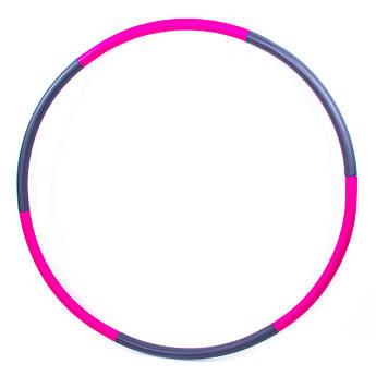 Обруч разборной, D=96 см, 6 секций, неопрен, металл, BY-38