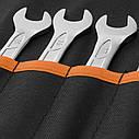 Набор ключей рожковых Dnipro-M (12 шт.), фото 2