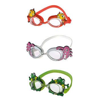 Очки для плавания  детские BUBBLE ARENA WORLD, цвета в ассортименте