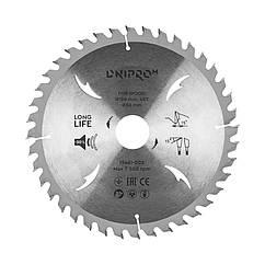 Пильный диск Dnipro-M 190 30/25,4/20 40Т
