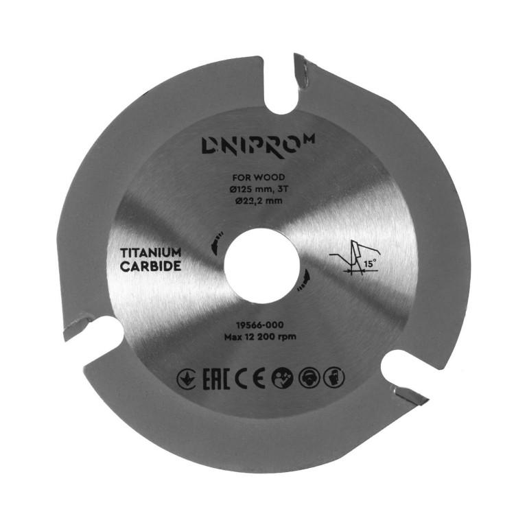 Пильный диск Dnipro-M 125 22,2 3Т