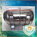 Гидроаккумулятор из нержавейки 24л горизонтальный GIDROTEH PTH24SS с нержавеющим фланцем, фото 8