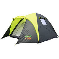 Палатка 3-х местная GreenCamp 1011-2, на 2 входа.