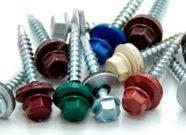 Винт самосверлящий (TEX) 5,5х25 RAL  окрашенный RAL (для метала)