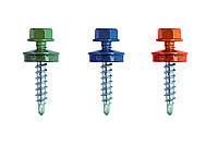 Винт самосверлящий (TEX) 4,8х19  окрашенный RAL (для метала)