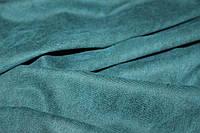 Ткань замш диагональ. цвет темный изумруд №525, фото 1