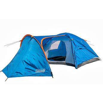 Палатка 4-х местная с тамбуром Coleman 1009.
