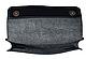 Сумка на пояс Frendy черная кожаная, фото 2