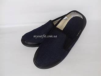 Мужские туфли домашние Джинс