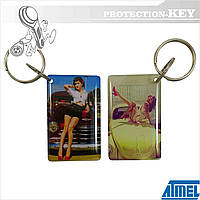 Epoxy-заготовка Т5577 Girls для копирования домофонных ключей и оригинальных RFID