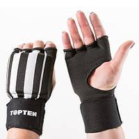 Перчатки-бинты внутренние TopTen, черный, рр. M..
