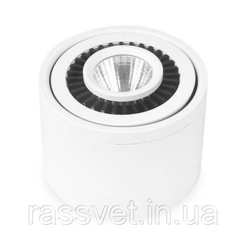 Світлодіодний накладний світильник 6201 AL523 10W 4000К IP20 Feron (білий )