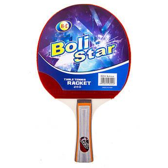 Ракетка для настільного тенісу Boli Star 8204В