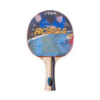 Ракетка для настільного тенісу Stiga Rossa 1*