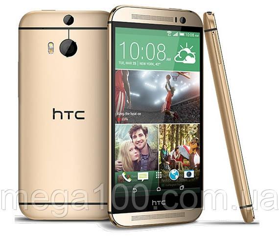 Смартфон HTC One M9 золото цвет(экран 5 дюймов, памяти 3/32, емкость акб 2840 мАч)