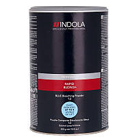 Беспылевой осветляющий порошок голубой Indola Profession Rapid Blond+ Blue Dust-Free Powder 450 г