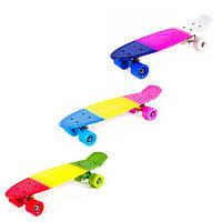 """Скейт PennyBoard 24"""", разноцветный, JP-HB-12."""