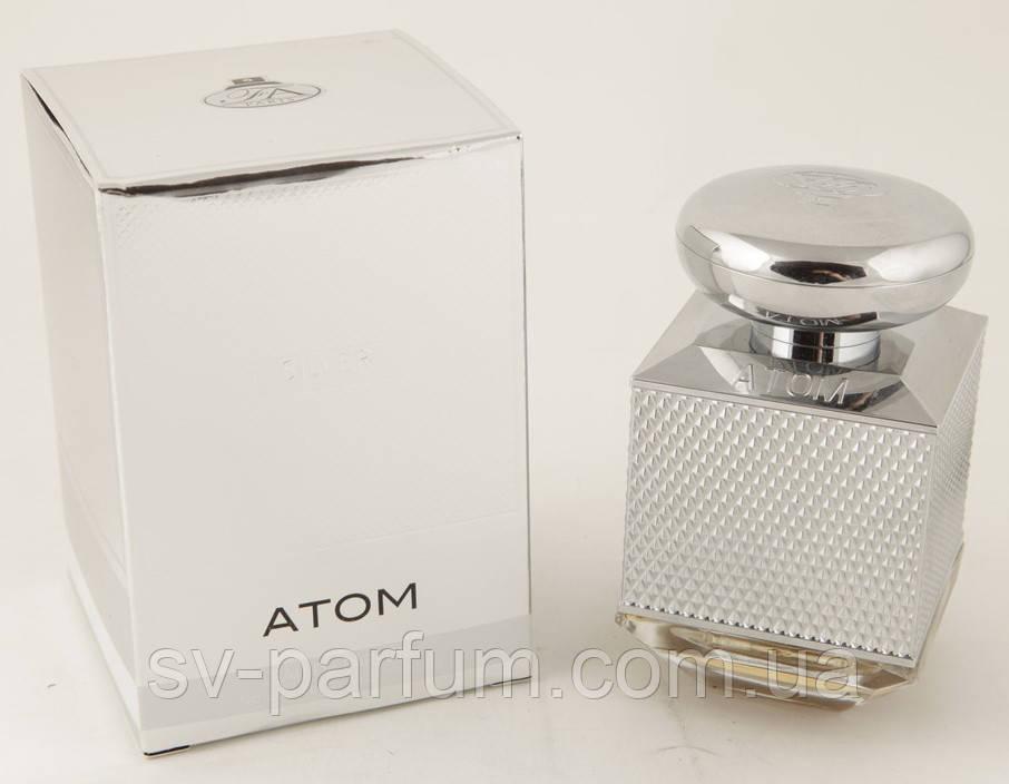 Парфюмированная вода мужская Atom Silver 100ml