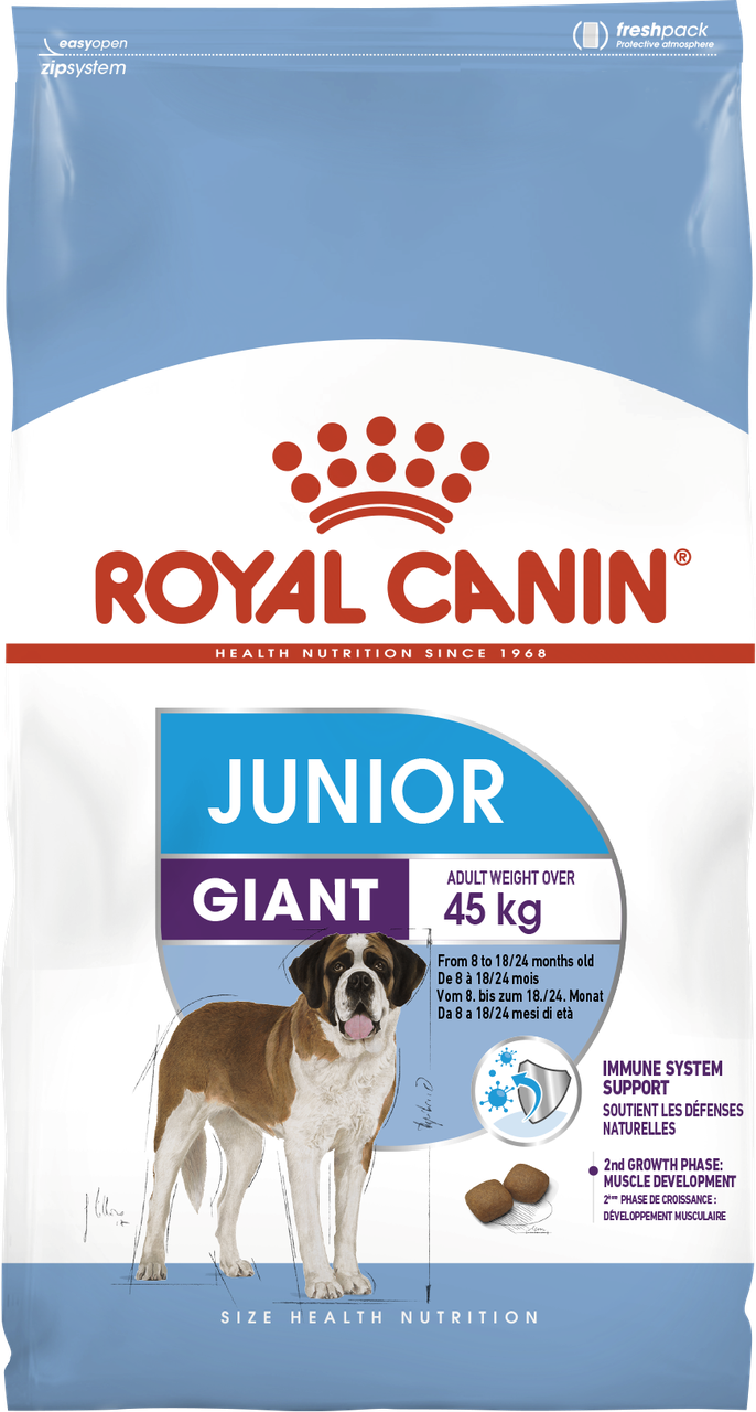 Корм для щенков гигантских пород от 8 мес Royal Canin GIANT JUNIOR 3,5 кг