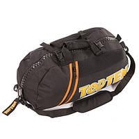 Сумка-рюкзак спортивная Top10, черный, 58*27*26см