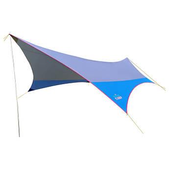 Тент GreenCamp, синій, GC0886B