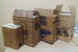КОРОБКА Вag in Box с печатью в один цвет