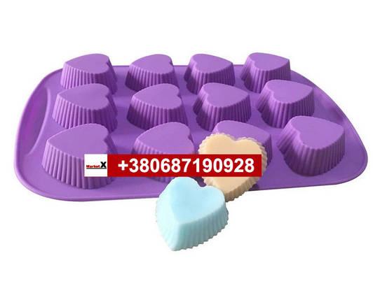 Харчова силіконова форма цукерки, фото 2