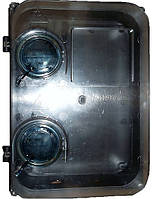 Прозрачный ящик герметичный пластиковый для трехфазного счетчика