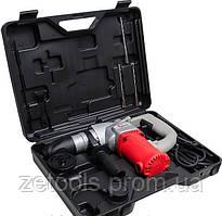 Перфоратор SDS plus 1100 Вт, 850 об/мин, 4100 уд/мин, 3 режима, L-образная компоновка INTERTOOL DT-0182