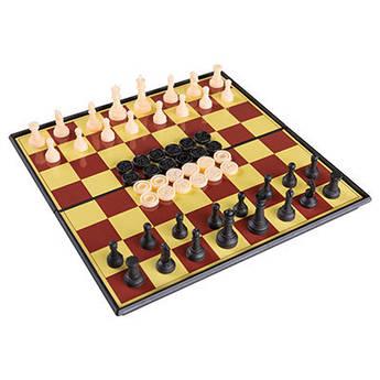 Шахматы 3*1 пластик, 3208А