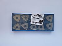 Пластина WNUM - 100412 ВК6 трёхгранная ломаная(80°) dвн=6мм (02114) со стружколомом