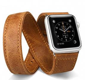 Ремешок JisonCase для смарт-часов  Apple Watch 40mm Extra Long Brown (AL1006_40mm)