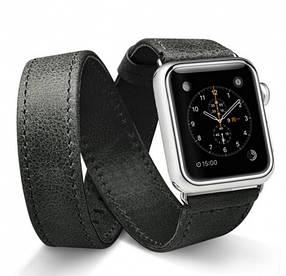 Ремешок JisonCase для смарт-часов  Apple Watch 40mm Extra Long Black (AL1005_40mm)