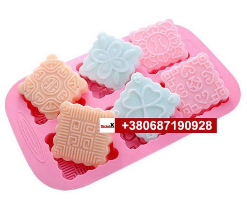 Пищевая силиконовая форма печенье, фото 2