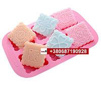 Пищевая силиконовая форма печенье