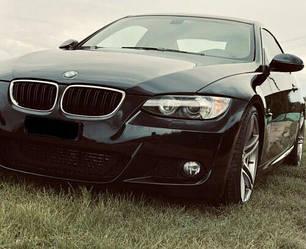 Решетка радиатора BMW E92 ноздри дорестайл стиль M3 (хром рамка)