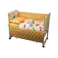 Защитный бортик в детскую кроватку (100% хлопок, сатин) ТМ Руно 926.137