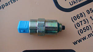 716/30255, 26420469, 7185-900T, 716/30092, 7185900G Клапан отсечки топлива (соленоид) на JCB 3CX, 4CX, фото 2